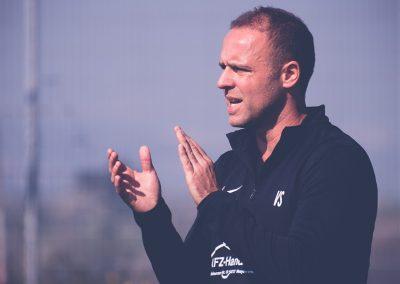 Trainer Volker Schambach