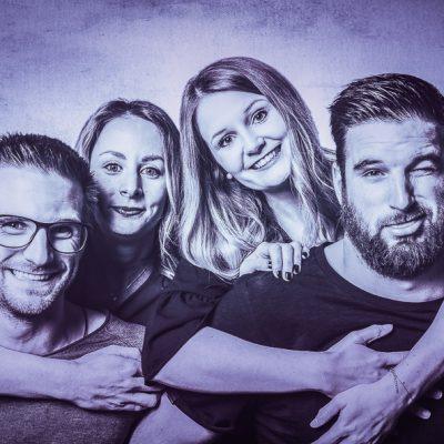 Gruppen-Portrait-